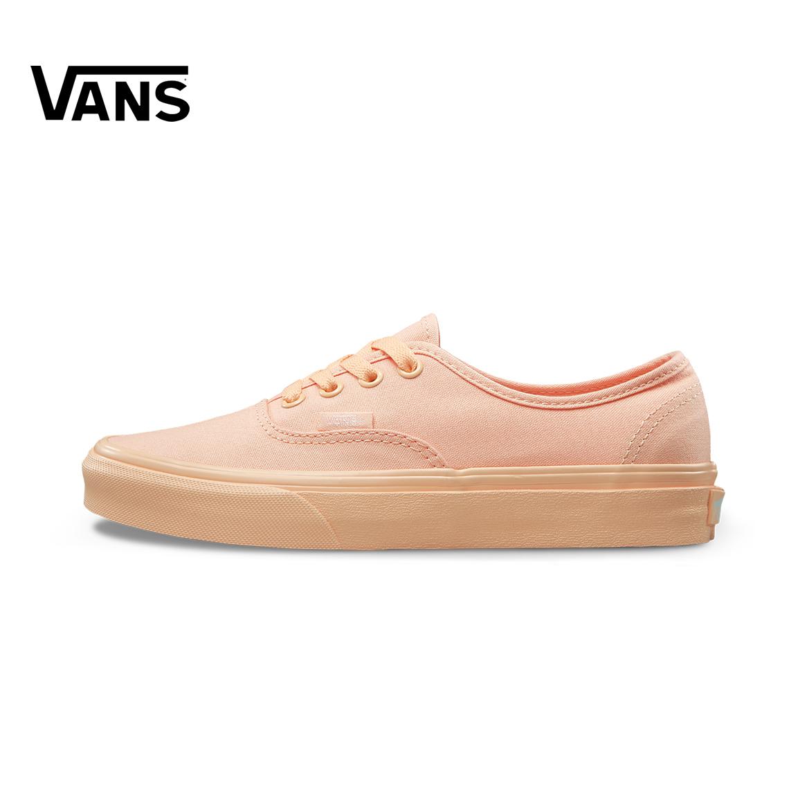 黄色帆布鞋 Vans范斯黄色中性休闲帆布鞋Authentic VN0A2Z5IOXW_推荐淘宝好看的黄色帆布鞋