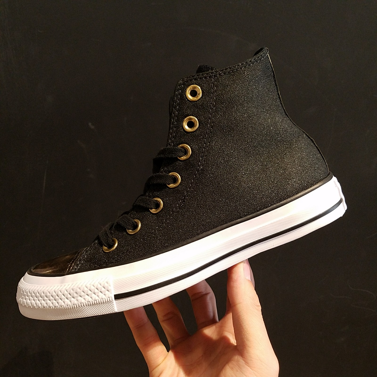 匡威新款帆布鞋 匡威新款女子ALL STAR金属色拼接高低帮休闲帆布鞋553305c_推荐淘宝好看的女匡威新款帆布鞋