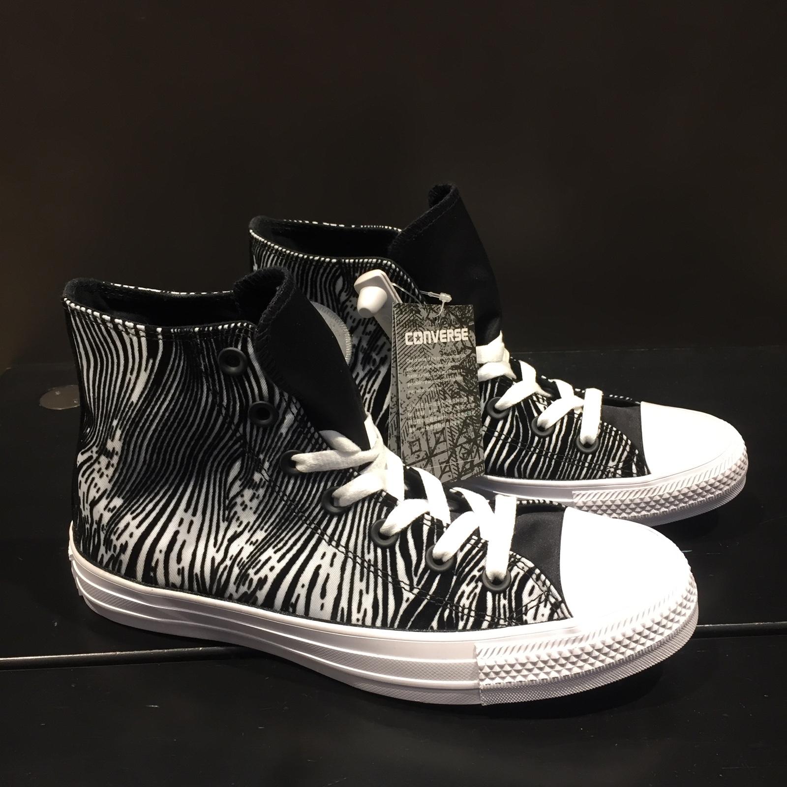 匡威新款帆布鞋 Converse匡威女鞋2018新款学生高帮透气休闲帆布鞋557942C_推荐淘宝好看的女匡威新款帆布鞋