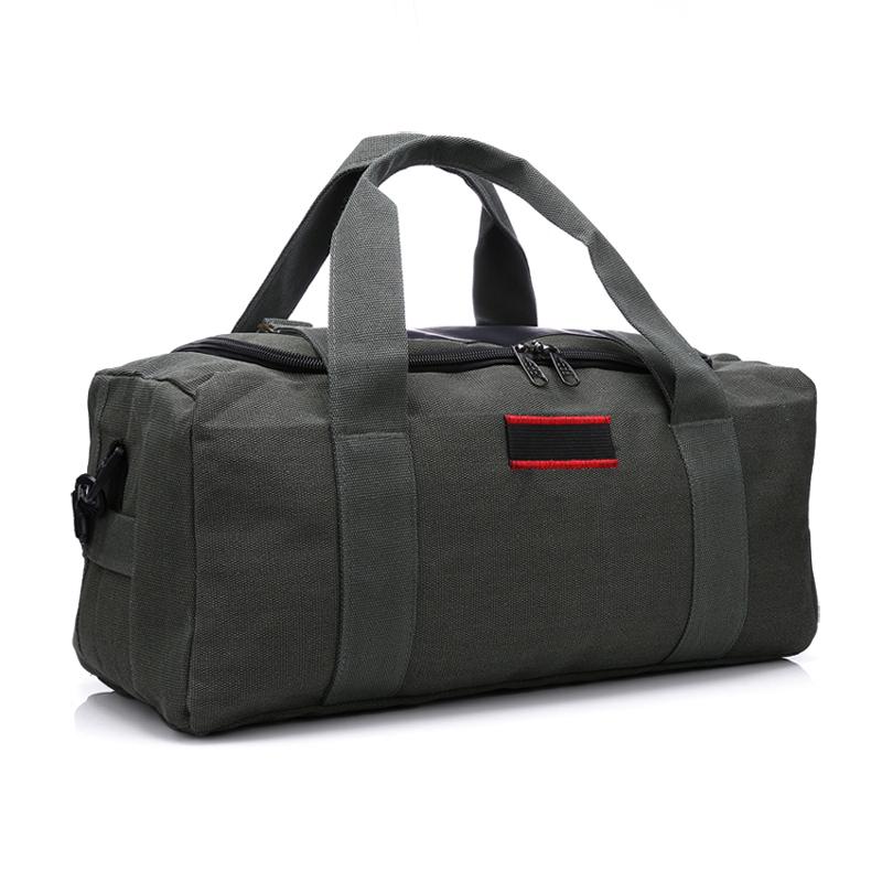 旅行帆布包 特价大容量帆布包旅行包 男 手提女短途旅行袋行李袋单肩包斜挎包_推荐淘宝好看的女旅行帆布包