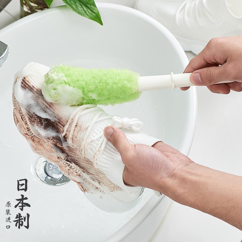运动鞋 日本进口家用超软毛刷鞋刷子清洁运动鞋网面多功能长柄洗鞋专用刷_推荐淘宝好看的运动鞋