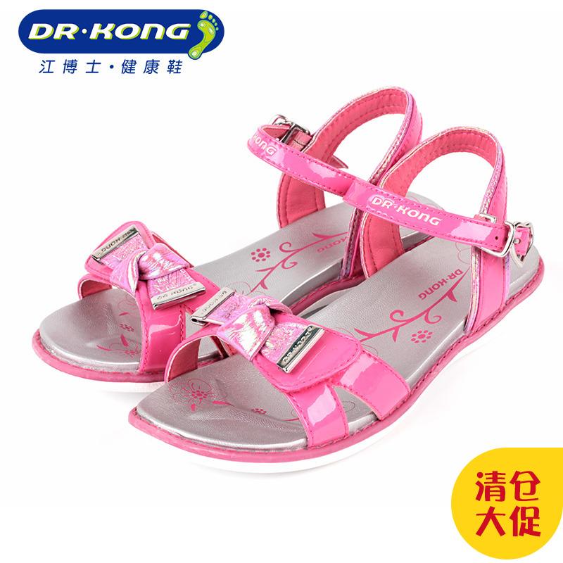 女凉鞋 dr.kong江博士女夏款鞋子露趾凉鞋大童公主凉鞋S200021_推荐淘宝好看的女凉鞋