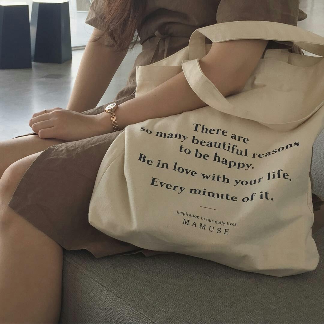 帆布包 韩版东大门同款女单肩布袋包文艺简约帆布包INS爆款森系CHIC包包_推荐淘宝好看的女帆布包