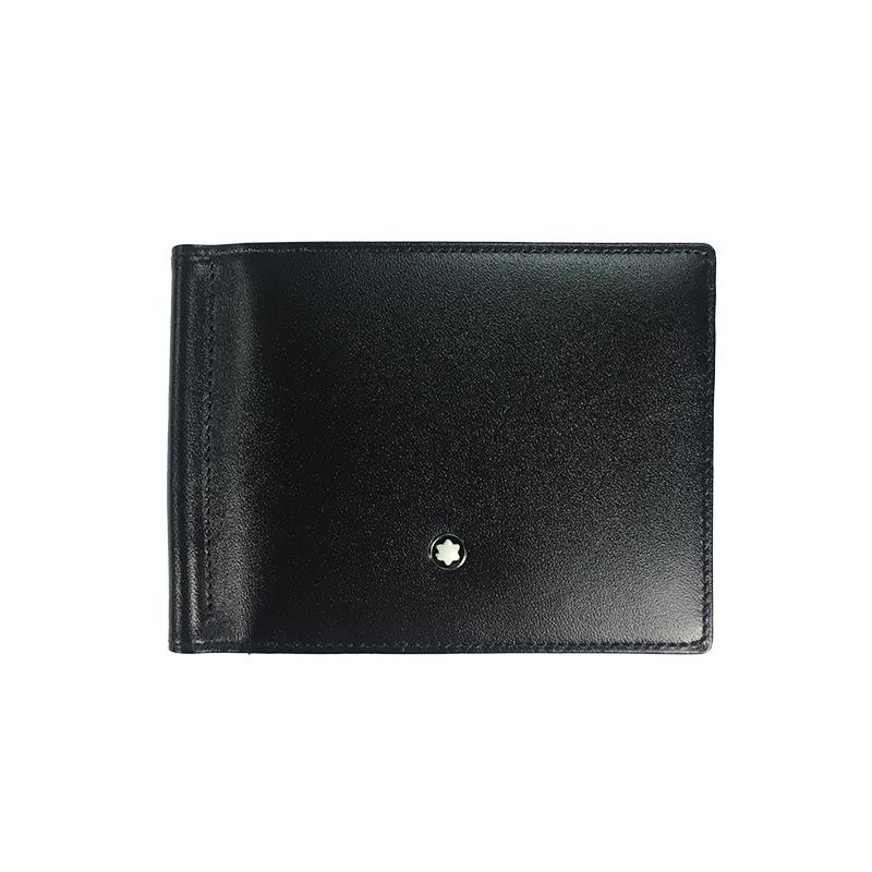 montblanc钱包 Montblanc万宝龙钱包 男士大班系列黑色卡包男短款卡包 5525_推荐淘宝好看的montblanc钱包