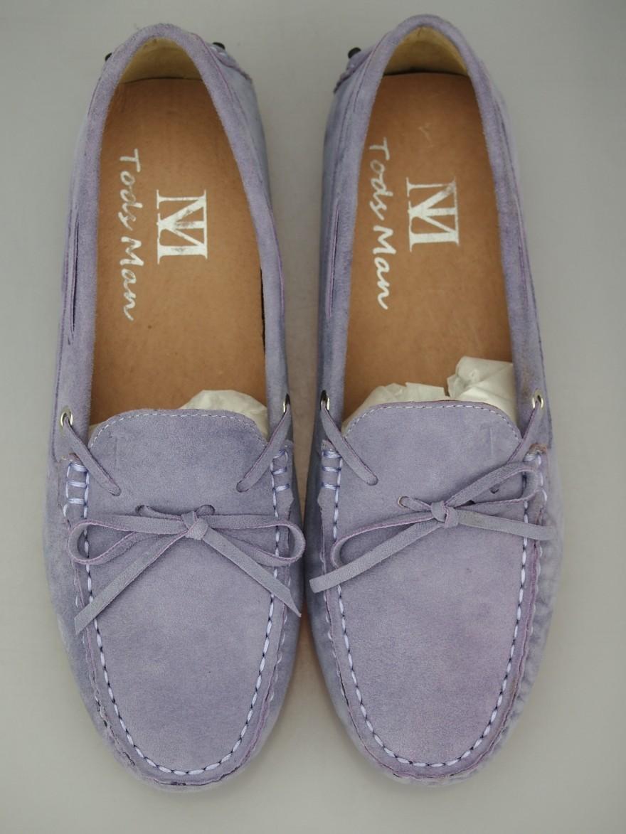 紫色豆豆鞋 秋季透气豆豆鞋女鞋单鞋真皮磨砂羊皮浅紫色蝴蝶结款平底鞋休闲鞋_推荐淘宝好看的紫色豆豆鞋