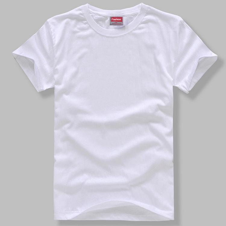 空白t恤 蜡染扎染手印染DIY学习材料空白T恤圆领短袖纯棉T恤男女适用_推荐淘宝好看的女空白t恤