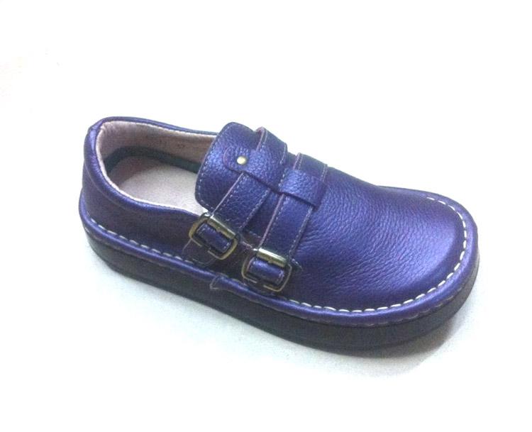 紫色厚底鞋 正品米迦勒新款真皮单鞋低帮女鞋休闲鞋牛皮厚底鞋韩版手工鞋紫色_推荐淘宝好看的紫色厚底鞋