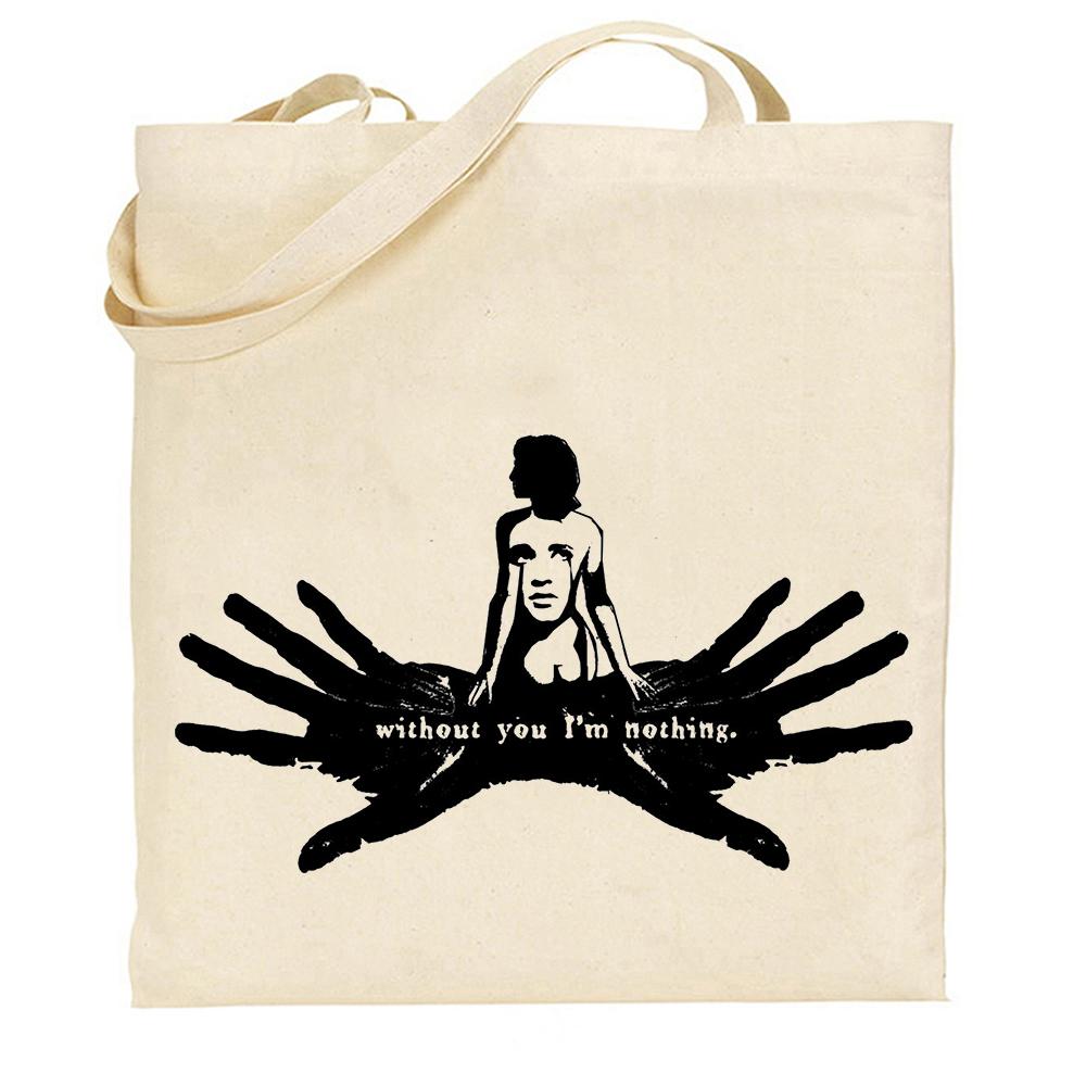 英伦复古包 Placebo 英伦摇滚乐队 帆布包环保袋  文艺复古 男女购物手提袋_推荐淘宝好看的女英伦复古包