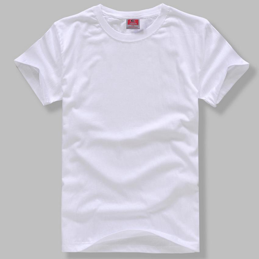 空白t恤 蜡染扎染草木染DIY学习材料空白T恤圆领短袖纯棉T恤男女适用_推荐淘宝好看的女空白t恤