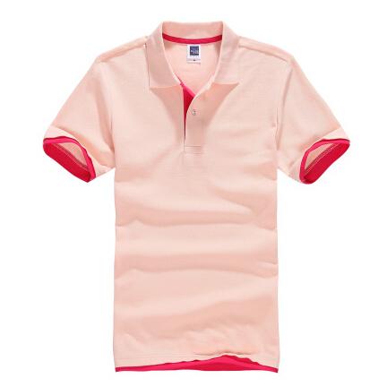 空白t恤 纯棉男女士polo衫女装短袖全棉T恤翻领班服可印字空白工作服定做_推荐淘宝好看的女空白t恤
