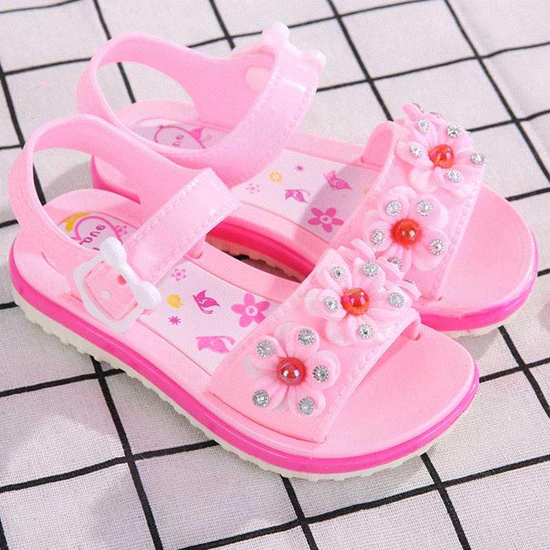 紫色鱼嘴鞋 红色儿童女童夏季中大孩子流行童女凉鞋童鞋露趾紫色塑胶儿红色_推荐淘宝好看的紫色鱼嘴鞋