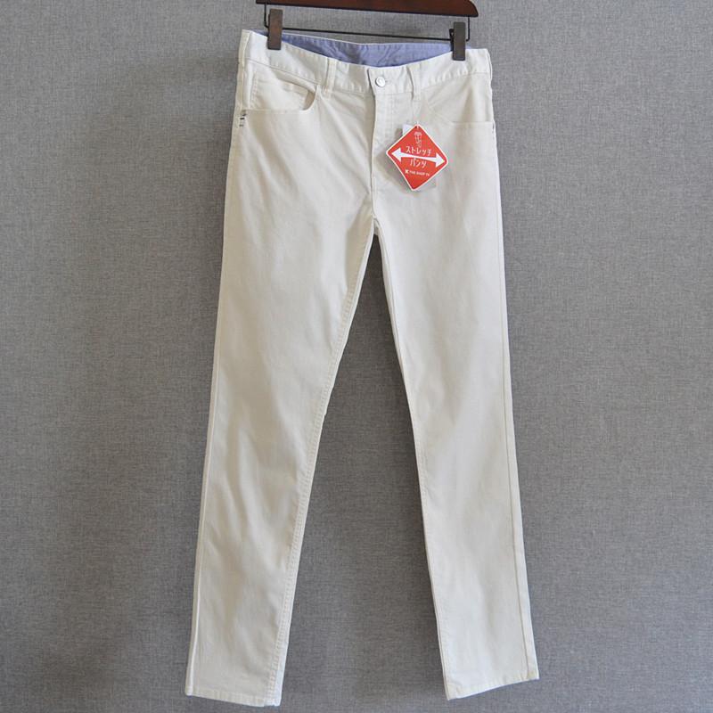 男士白色休闲裤 c2男士休闲长裤_推荐淘宝好看的男白色休闲裤