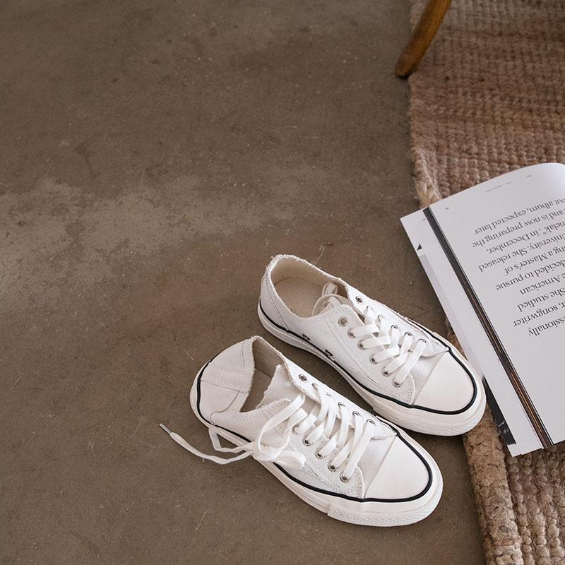 纽巴伦996女鞋 cang|c系列2019新款低帮ss19硫化鞋日本帆布白色鞋低帮鞋女鞋帆布_推荐淘宝好看的纽巴伦996女鞋