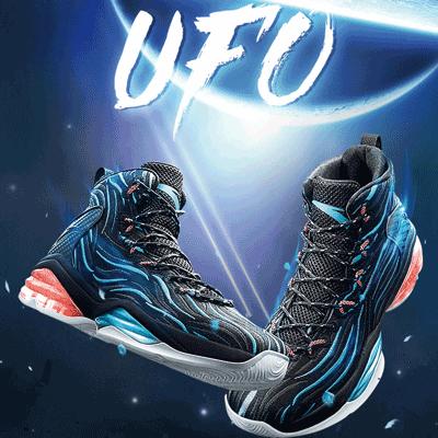 高帮安踏篮球鞋 安踏篮球鞋男鞋2018新款运动鞋男UFO系列高帮球鞋NBA战靴11811189_推荐淘宝好看的高帮安踏篮球鞋