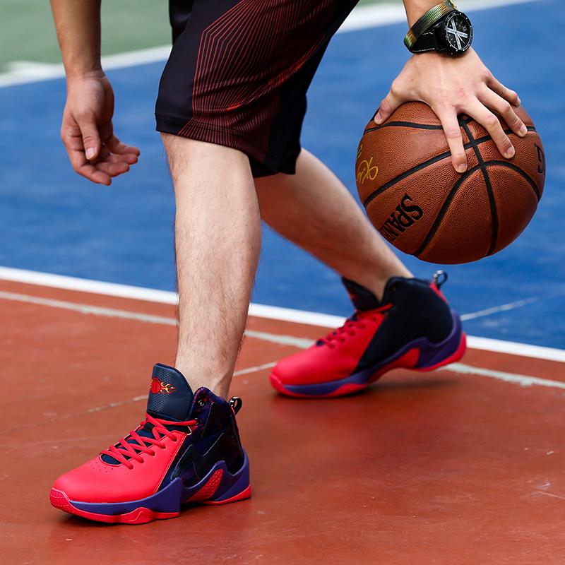 篮球鞋 厍里篮球鞋男篮球鞋运动鞋男鞋耐磨乔7代球鞋詹姆篮球鞋战靴_推荐淘宝好看的男篮球鞋