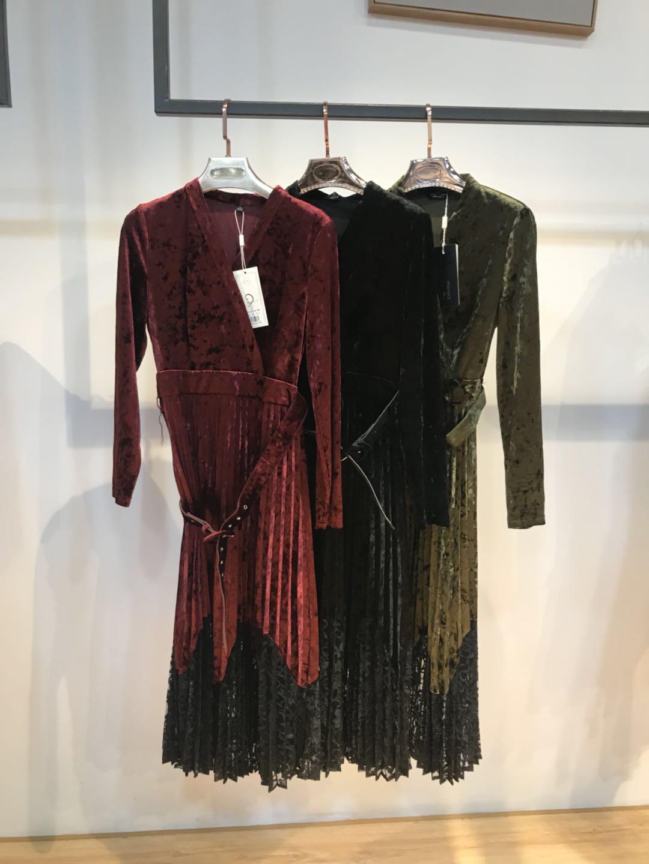 黑色连衣裙 7.13安安家连衣裙ZYB3CL01_推荐淘宝好看的黑色连衣裙
