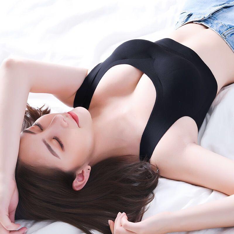 超薄透气胸垫 夏季超薄冰丝文胸妈妈内衣带胸垫无钢圈透气孔薄款胸罩背心式奶罩_推荐淘宝好看的超薄透气胸垫
