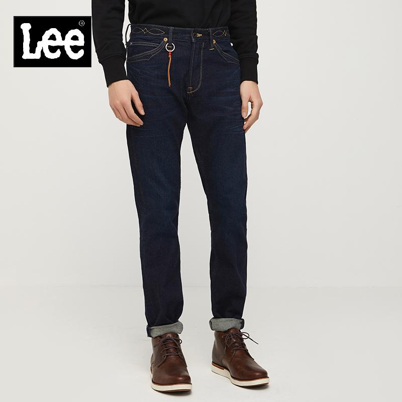 lee男士牛仔裤 Lee男装 2018春夏新品101+深蓝色牛仔裤L127262UZ4LP_推荐淘宝好看的lee 牛仔裤