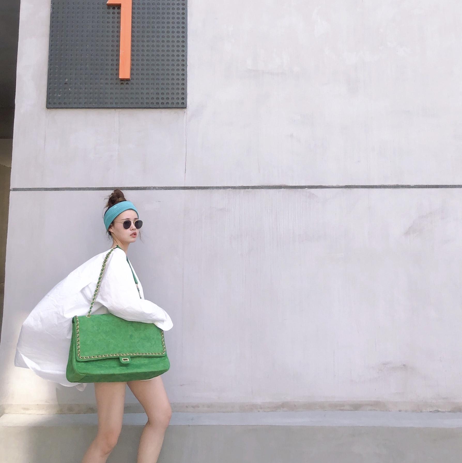 链条包 网红于momo同款小香风菱格链条包糖果色麂皮绒购物袋超大容量女包_推荐淘宝好看的女链条包