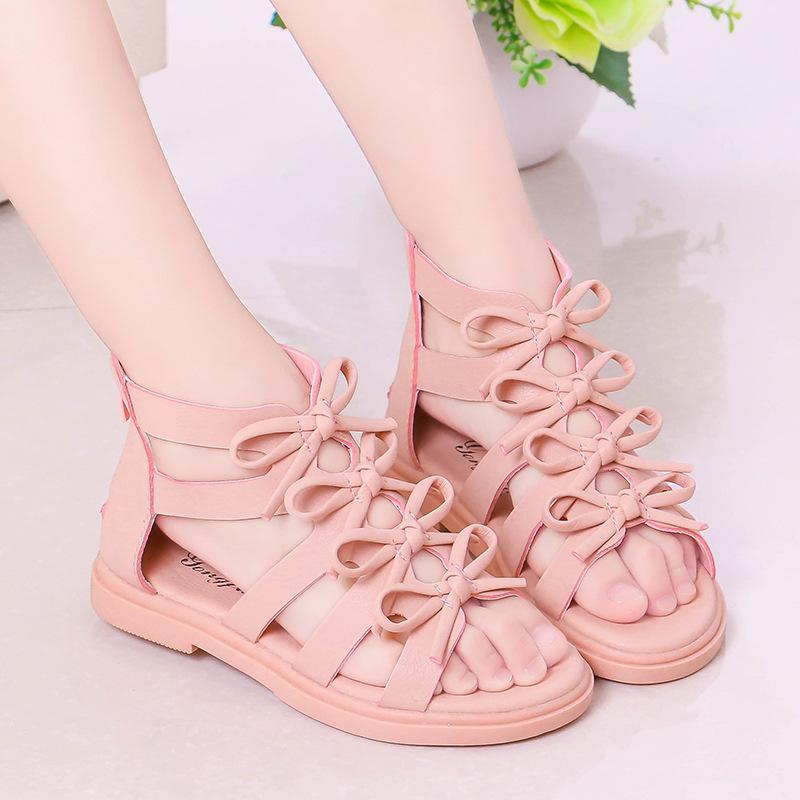 女童凉鞋 2到12岁11女孩10韩版9小孩穿的8女童鞋7夏天6高帮5公主凉鞋4儿童3_推荐淘宝好看的儿女童凉鞋