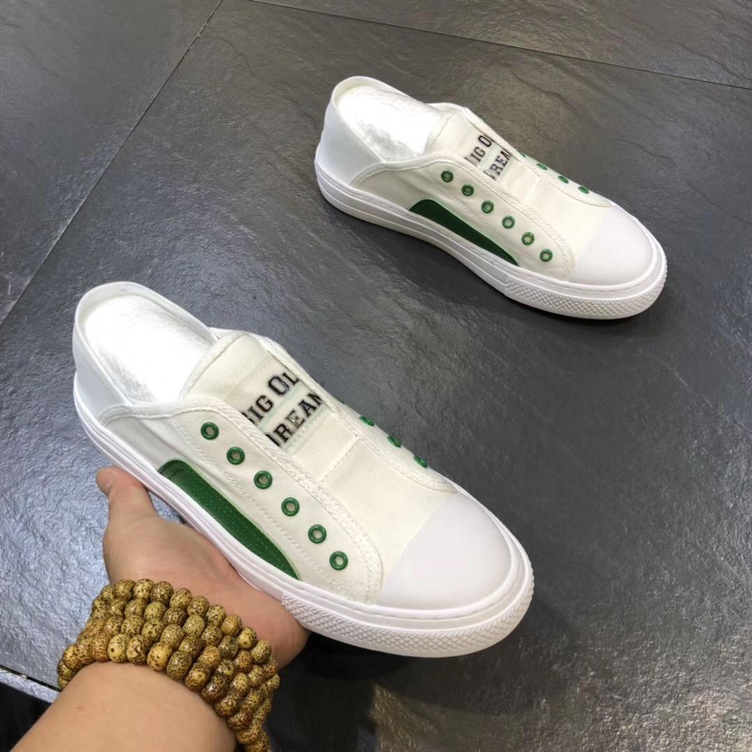 板鞋 2019夏季新款透气时尚一脚蹬懒人板鞋休闲小白鞋_推荐淘宝好看的板鞋