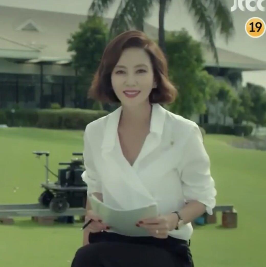 白色衬衫 韩剧 迷雾misty高惠兰金南珠同款白色衬衫长袖宽松v领上衣 韩版女_推荐淘宝好看的白色衬衫