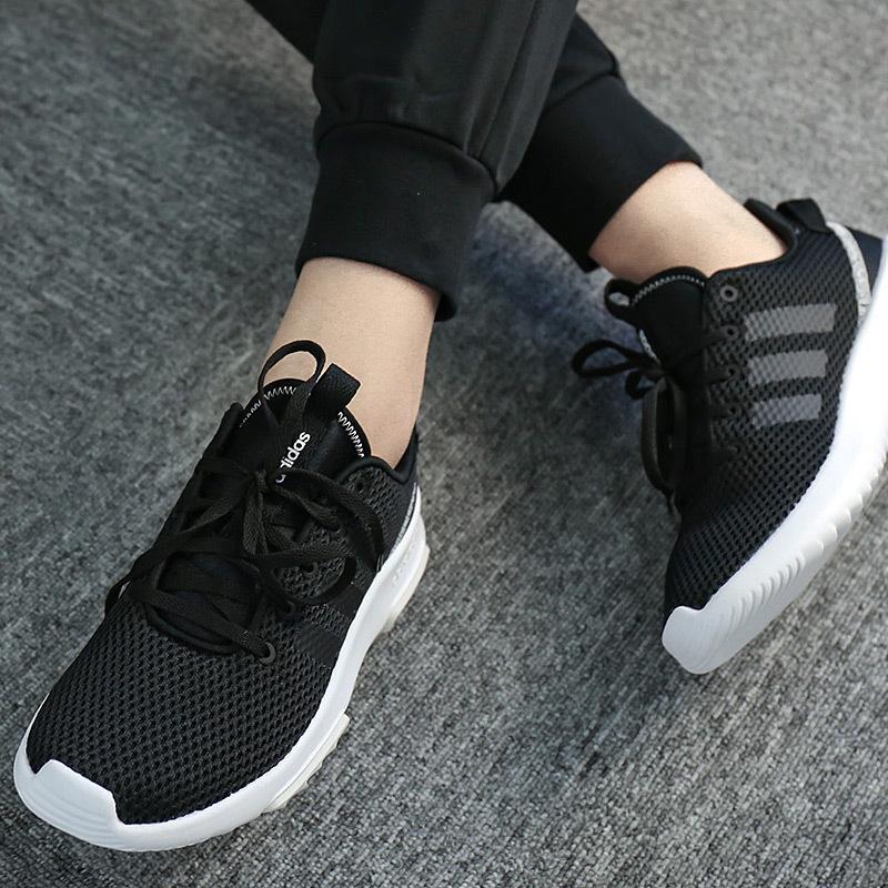 阿迪达斯运动鞋 Adidas阿迪达斯女鞋 2017新款女子运动跑步轻便耐磨休闲鞋 CG5764_推荐淘宝好看的女阿迪达斯运动鞋
