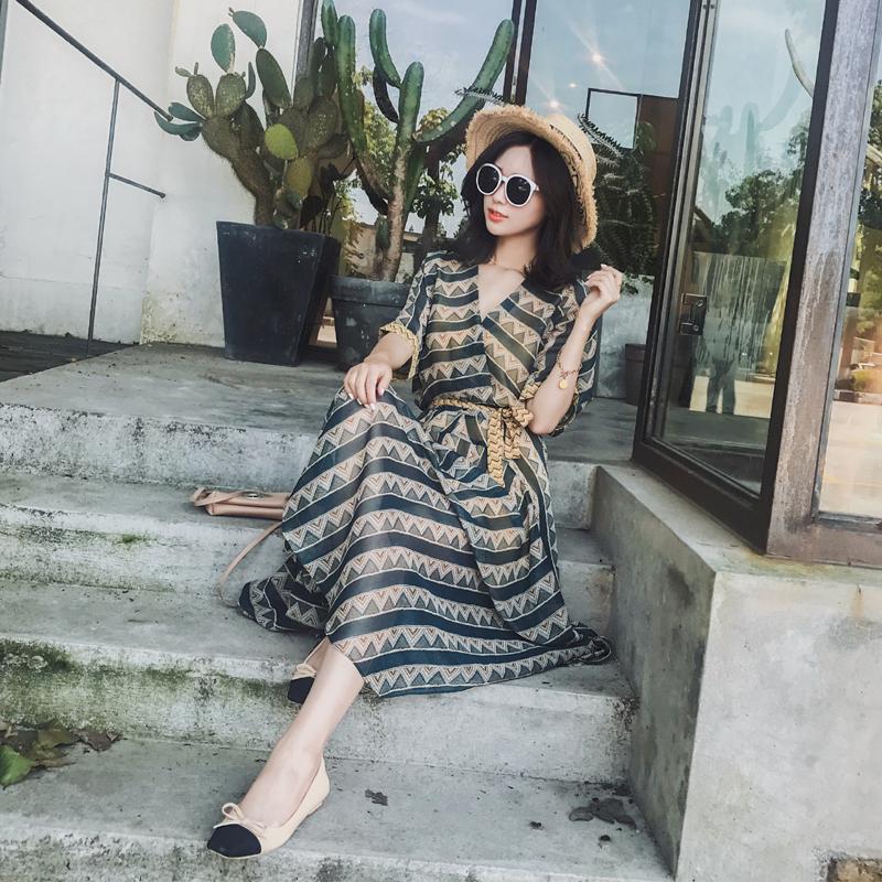 品牌连衣裙新款 波斯米亚连衣裙两件套8528Q26P85控价128元,低于这个价投诉_推荐淘宝好看的连衣裙