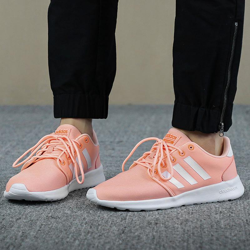 阿迪达斯运动鞋 Adidas阿迪达斯女鞋2018新款NEO透气轻便运动跑步鞋休闲鞋DB0270_推荐淘宝好看的女阿迪达斯运动鞋