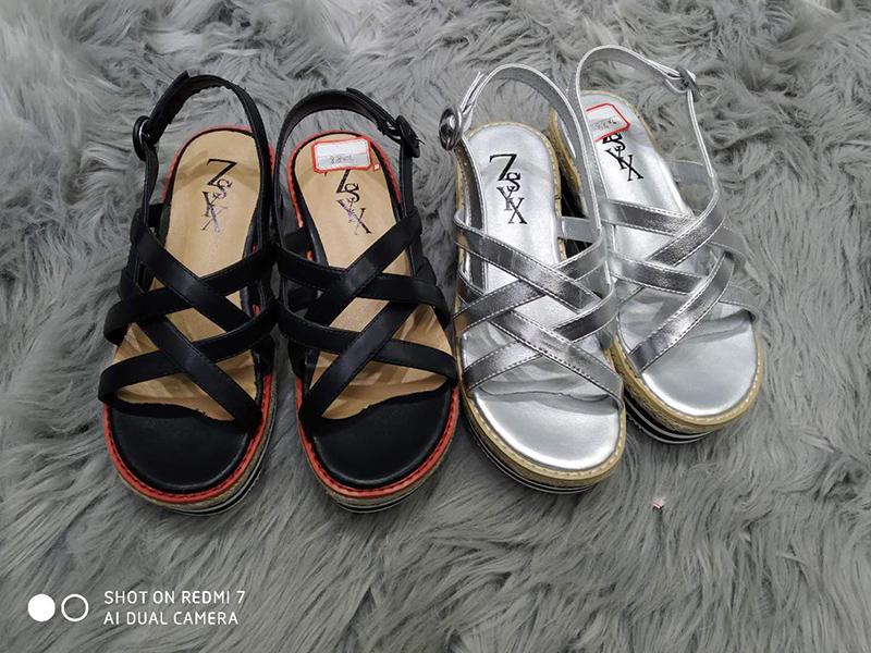皮凉鞋 2019新款头层牛皮凉鞋女2088_推荐淘宝好看的女皮凉鞋