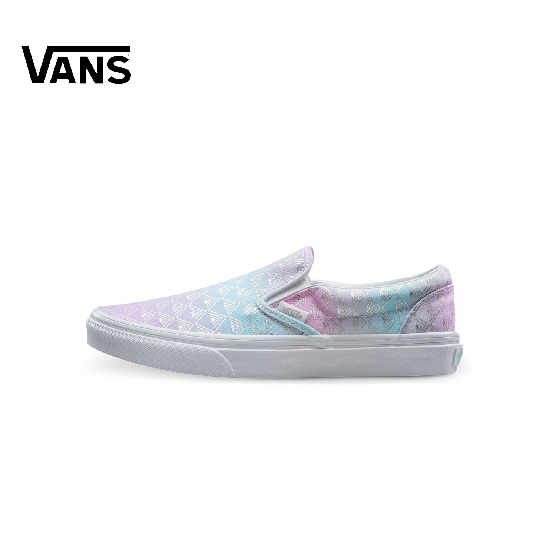 紫色帆布鞋 Vans范斯紫色女款板鞋休闲鞋帆布鞋 VN0A38F7MU9_推荐淘宝好看的紫色帆布鞋