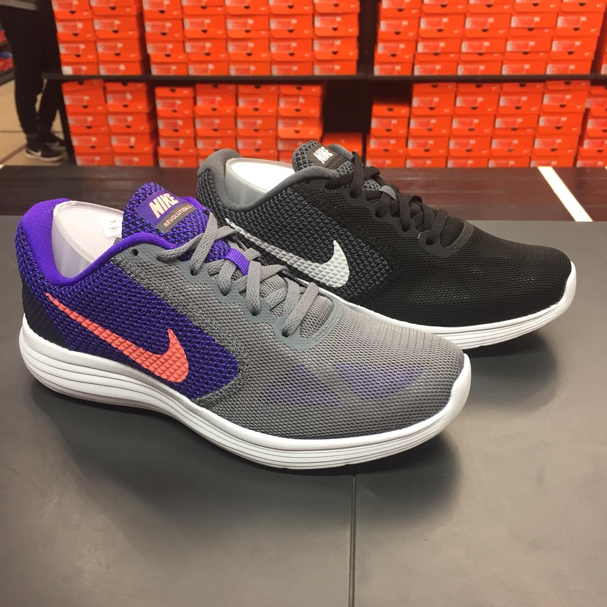 耐克女运动鞋 Nike耐克Revolution 3女子休闲运动跑步鞋819303_推荐淘宝好看的女耐克女运动鞋