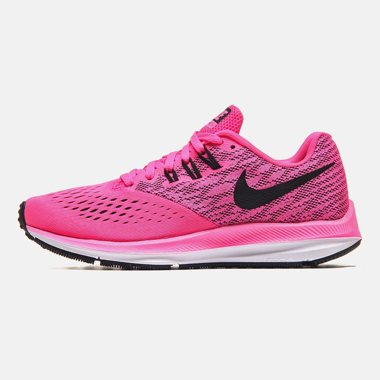 高仿耐克运动鞋 NIKE耐克女鞋跑步鞋2018新款ZOOM WINFLO 4气垫减震运动鞋898485_推荐淘宝好看的女耐克运动鞋