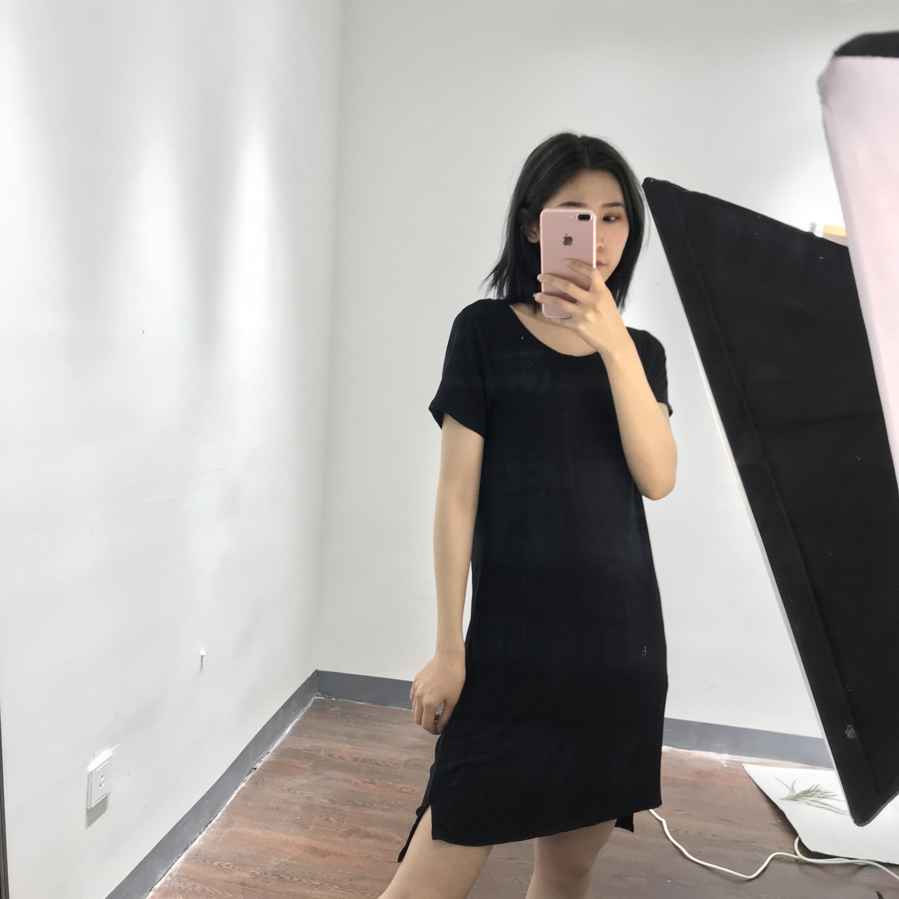 品牌连衣裙新款 0507纯色连衣裙_推荐淘宝好看的连衣裙