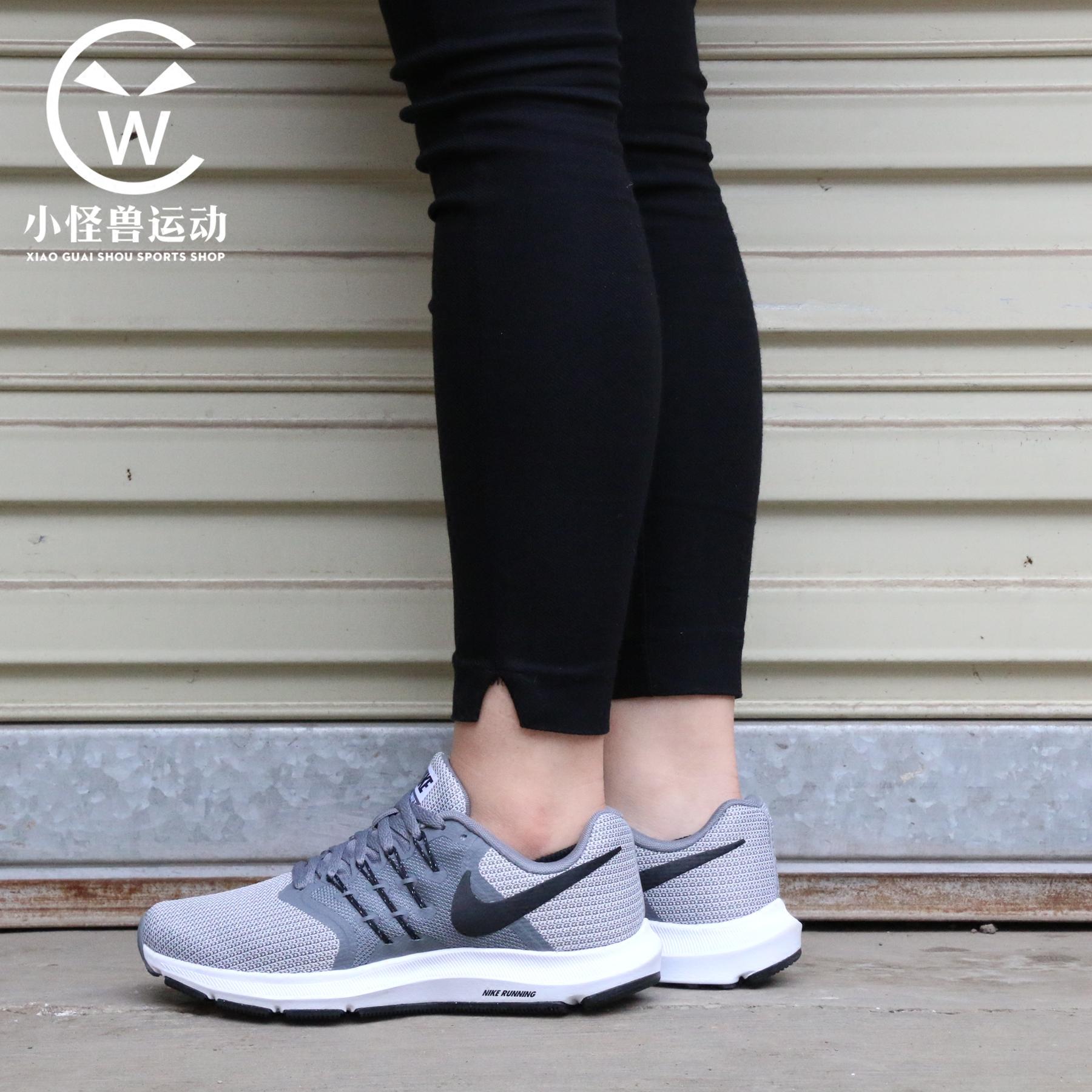 耐克女式运动鞋 Nike耐克 女子缓震轻便舒适飞线透气网面运动跑步鞋 909006-011_推荐淘宝好看的女耐克女运动鞋
