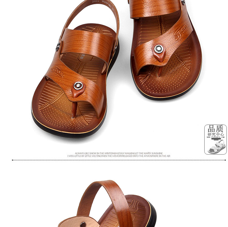 Сандали Genuine leather shoes 1619 2015