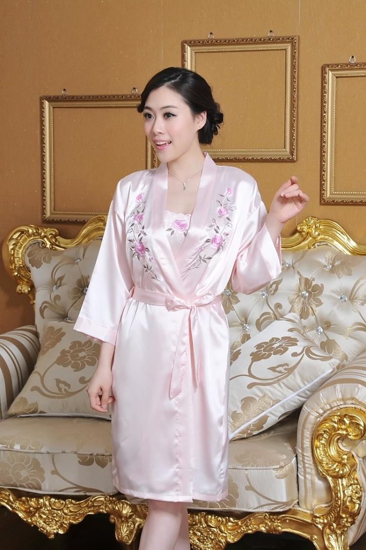 可爱真丝睡裙女夏季纯棉短袖条纹睡衣少女无袖睡裙性感睡袍两件套图片