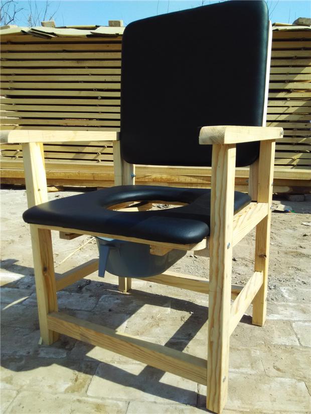全实木制木质座便椅坐便凳 老人马桶凳孕妇坐便椅移动坐便器