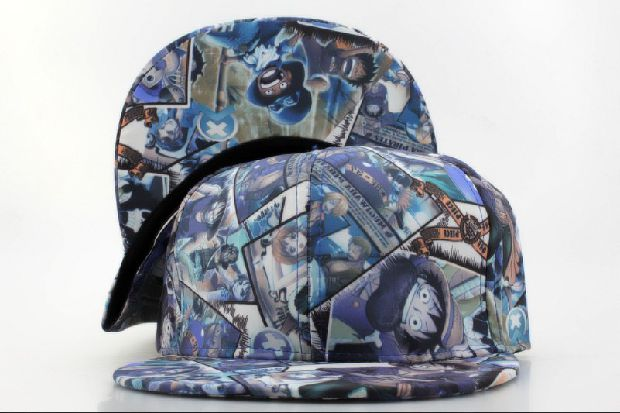 Головной убор One Piece Snapbacks Cartoon