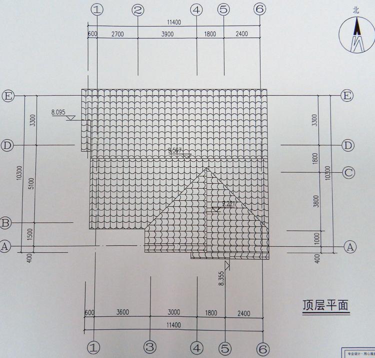 二层别墅图纸带效果图新农村自建二层房设计图小别墅房屋