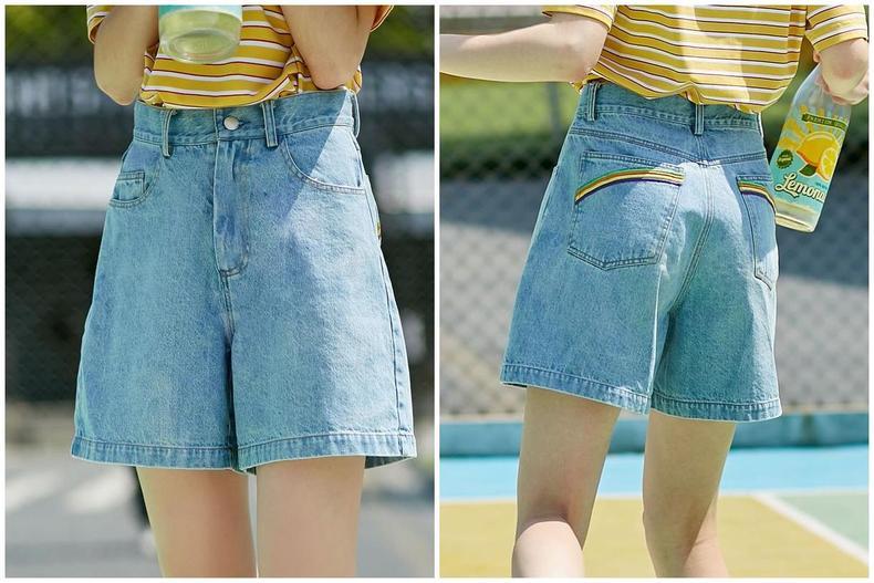 这些牛仔短裤,每款都可以秀出你的好身段