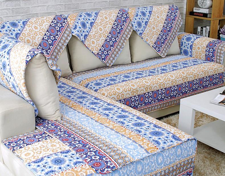 秋季布艺沙发垫坐垫防滑纯棉田园沙发布沙发坐垫沙发套沙发罩定做