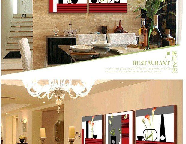 客厅装饰画现代简约有框画沙发背景墙挂画卧室三联风景壁