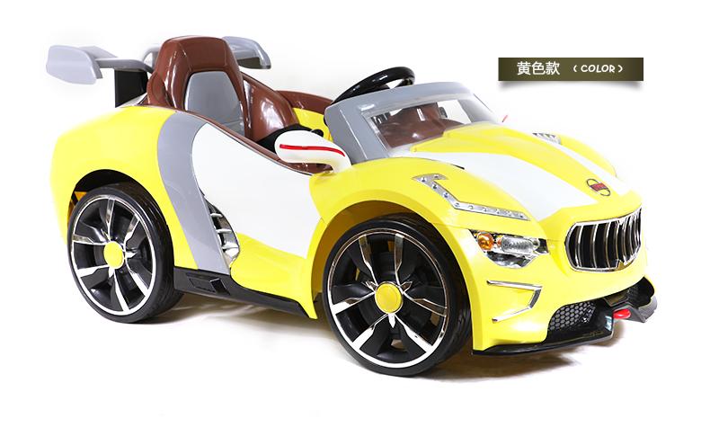 包邮好来喜儿童电动车遥控四轮儿童小汽车带mp3电动汽车1328高清图片