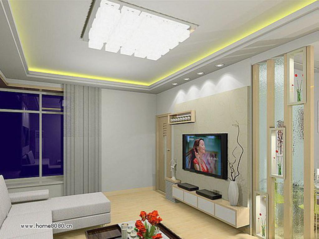 客厅吊顶装修效果图 家装吊顶设计图片 室内房屋顶棚吊灯