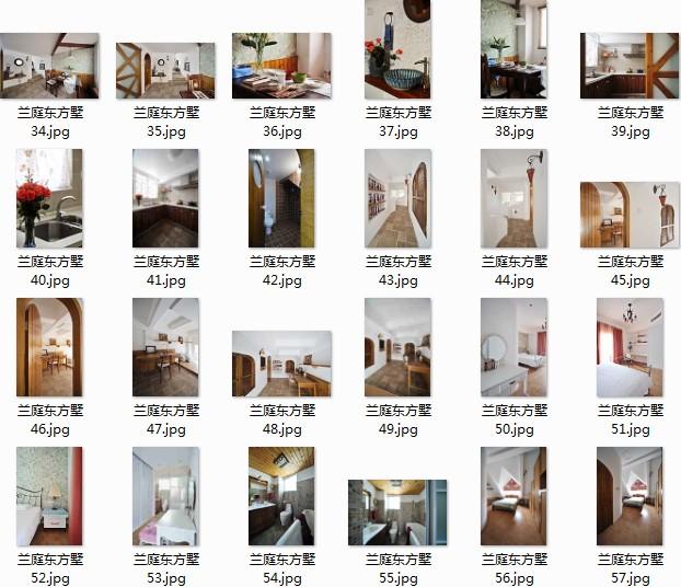 新整理超高清东南亚风格实景照图片 房子室内装修设计效果图图片