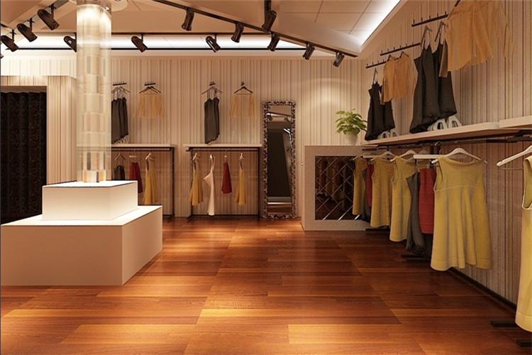 女服装店装修设计效果图时尚女装店面设计图小型女装店铺装修图片