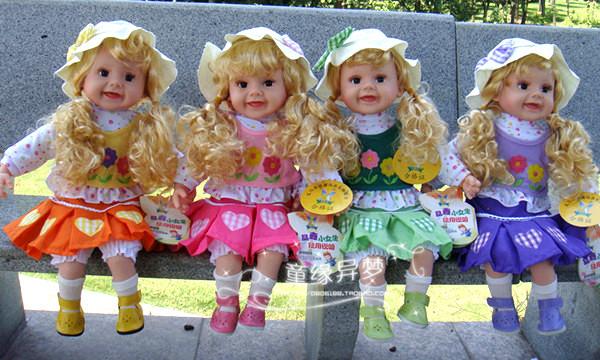 包邮儿童智说话的芭比洋娃娃布娃娃问题益智玩具可爱女孩成本玩具厂礼物v儿童正品图片