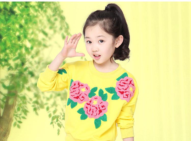 9秋季8新款7童装5到8至13岁女童10休闲套装12小女孩韩版