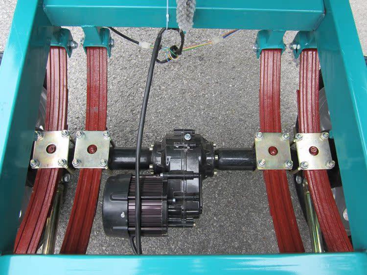 动三轮车货运电动车快递物流运输双人电瓶车 老年代步车22 高清图片